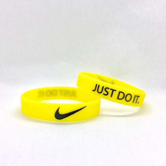 Pulseira Silicone Nike Just Do It - ( 07 Unidades )