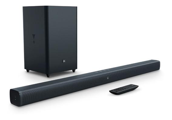 Home Theater Soundbar Jbl Bar 2.1 Bivolt 100w Rms Sub S/ Fio