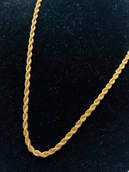 Correntinha De Ouro , Cordão Banhada Ouro 18k Cordão Bahiano