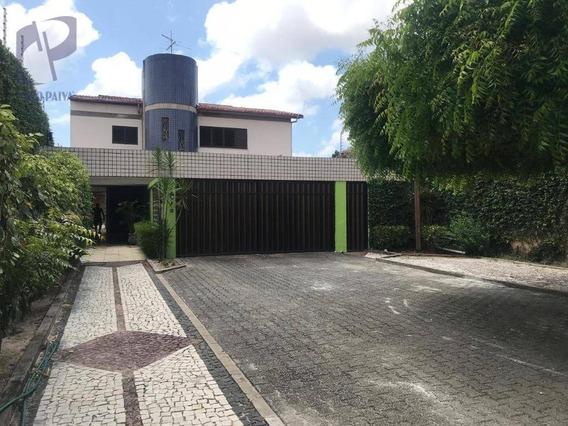 Casa Com 6 Dormitórios À Venda, 306 M² Por R$ 900.000 - Cidade Dos Funcionários - Fortaleza/ce - Ca2962