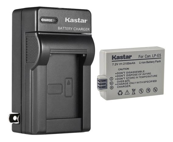 Cargador Y Bateria Lp-e5 Para Canon Eos450d 500d Kiss Xs Xsi