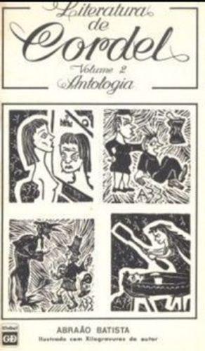 Livro Literatura De Cordel Abraão Batista
