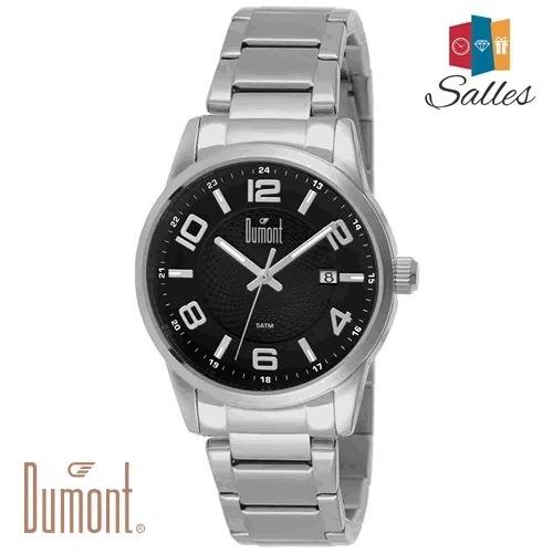 Relógio Masculino Dumont Com Calendário Du2315ae/3p Novo!