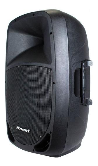 Caixa De Som Ativa Amplificada Oneal Opb1112 Bluetooth 200w