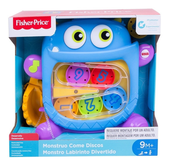 Fisher Price Monstro Labirinto Divertido Mattel