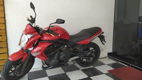 Kawasaki Er-6n 2012 Vermelha Tebi Motos