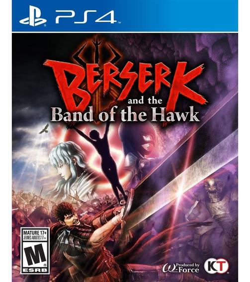 Berserk And The Band Of The Hawk Ps4 Mídia Física Novo
