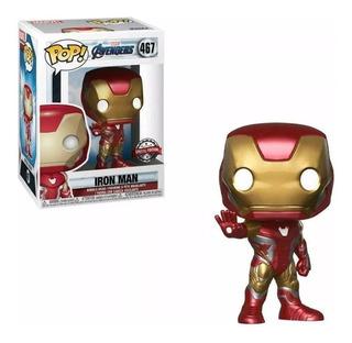Iron Man #467 Endgame Figura Simil Funko Jugueteria Medrano