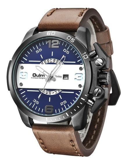 Relógio De Pulso Masculino Rustico Exclusivo Frete Grátis !!