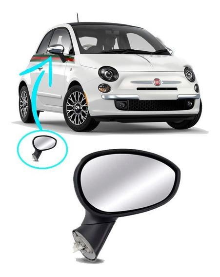 Retrovisor Direito Eletrico Fiat 500 08 2009 2010 2011 2012