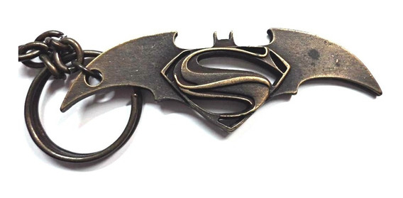 Llavero Superman Batarang Batman Superheroes Comics Metal Dc