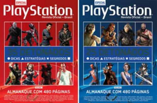 Imagem 1 de 1 de Coleção Almanaque Playstation De Detonados (2 Volumes)