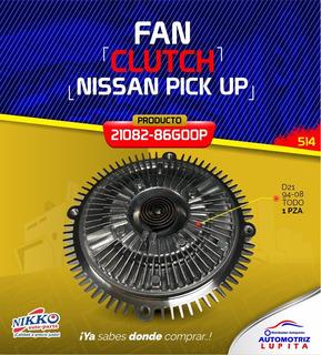Fan Clutch Nissan Pick Up D21 94-08 Motor 2.4 Todos Best Coo