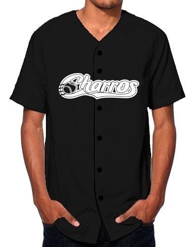 Jersey Camisola Béisbol Charros De Jalisco Lmp Personalizado