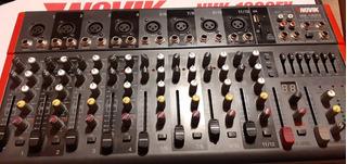 Consola Mixer Novik Nvk 1202 - 12 Canales
