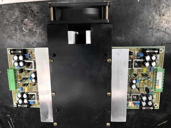 Modulo Amplificador Hi End Pwt-mk4 520w Rms 02 Amp+diss+vent
