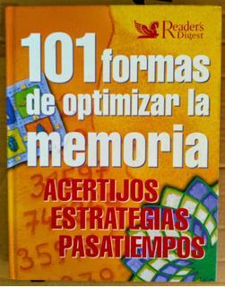 101 Formas De Optimizar La Memoria. Libro