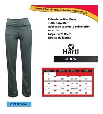 Id076 Calza Larga Recta Deportiva Hartl (mujer)