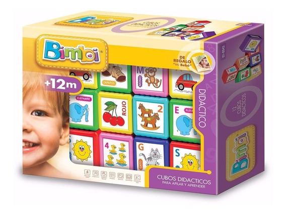 Cubos Didácticos Apilables Primera Infancia