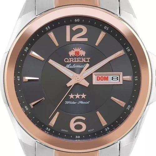 Relógio De Pulso Masculino Orient 469tt050 G2sr Prata Prata