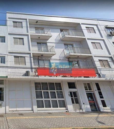 Imagem 1 de 16 de Andar Corporativo Para Alugar, 110 M² Por R$ 1.600/mês - Boqueirão - Praia Grande/sp - Ac0002