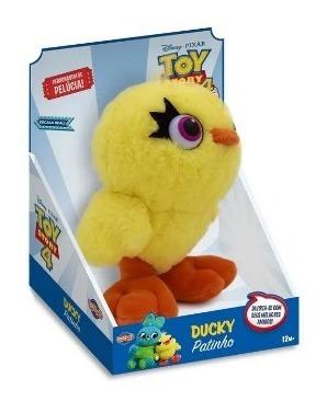 Pelúcia Ducky Patinho 17cm Toy Story 4 - Toyng