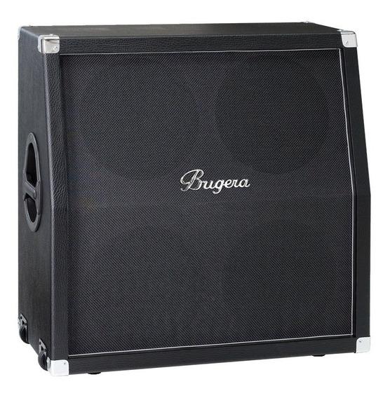 Caixa Gabinete Bugera 412h-bk Angulada 4x12 200w Guitarra Nf