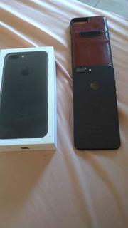 iPhone 7 Plus 128 Gb Preto, 1 Ano De Uso (novo)