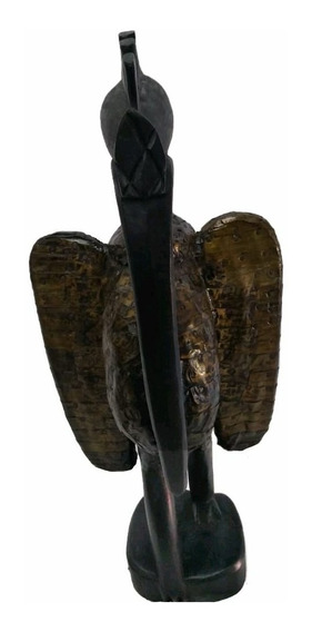 Estátua Imagem Africana Madeira Iyami Osoronga Candomble