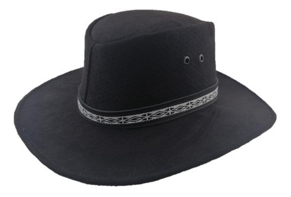 Sombrero Viaje Flexible Totalmente Guardar Canyon Hats Negro