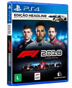 Formula 1 Head Line Ps4 Midia Fisica