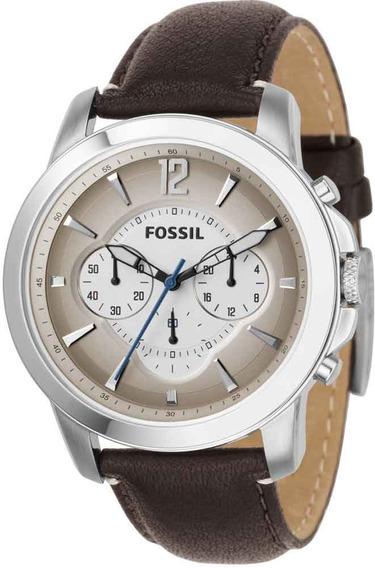 Relógio Fossil Masculino Grant Cronógrafo Ffs4533