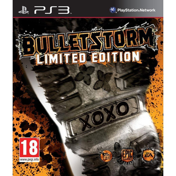Bulletstorm Limited Edition Ps3 Mídia Física E Lacrado
