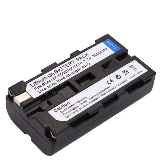 Bateria Para Sony Np-f550 F570 3000mah Li-ion Promoção