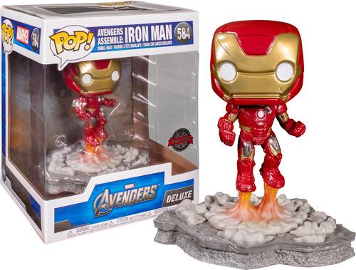 Funko Pop #584 Iron Man - Avengers Assemble