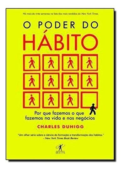 Livro - O Poder Hábito - Charles Duhigg