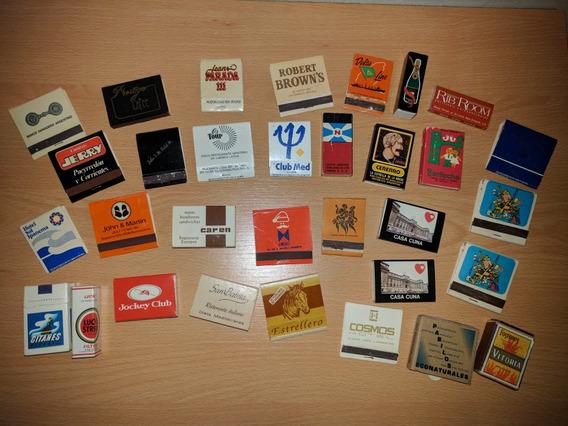 Lote Colección De Cajas De Fósforos