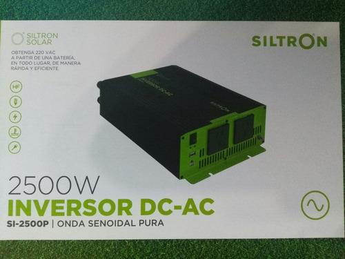 Imagen 1 de 9 de Inversor Conversor Senoidal 2500w 12v A 220v Siltron C/usb