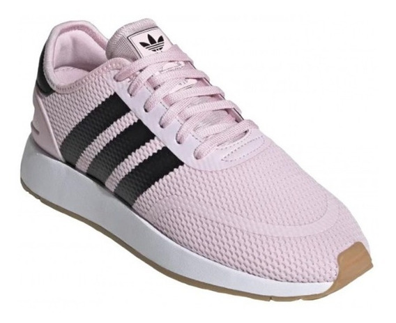 Tênis adidas N5923 Clear Pink Core Black Feminino.