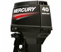 Motor De Popa 40 Hp Eo Mercury Comando A Distância