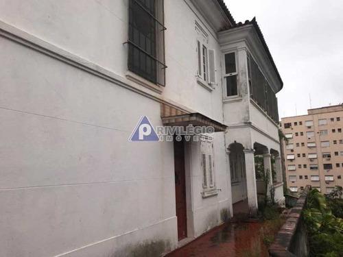 Casa De Rua À Venda, 4 Quartos, 2 Vagas, Glória - Rio De Janeiro/rj - 21550