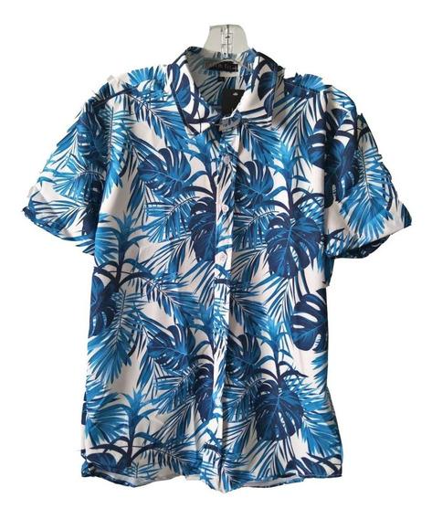 Camisas Social Manga Curta Masculino Florida Estampada Barata Tp Importada Frete Gratis