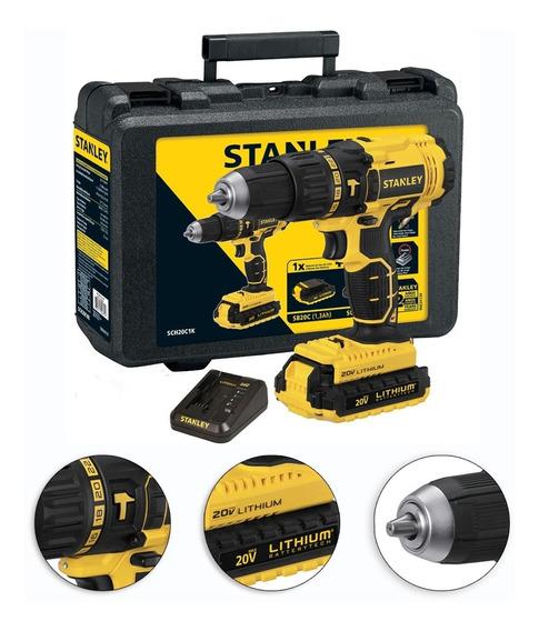 Furadeira Parafusadeira De Impacto 1/2 Bateria 20v Stanley