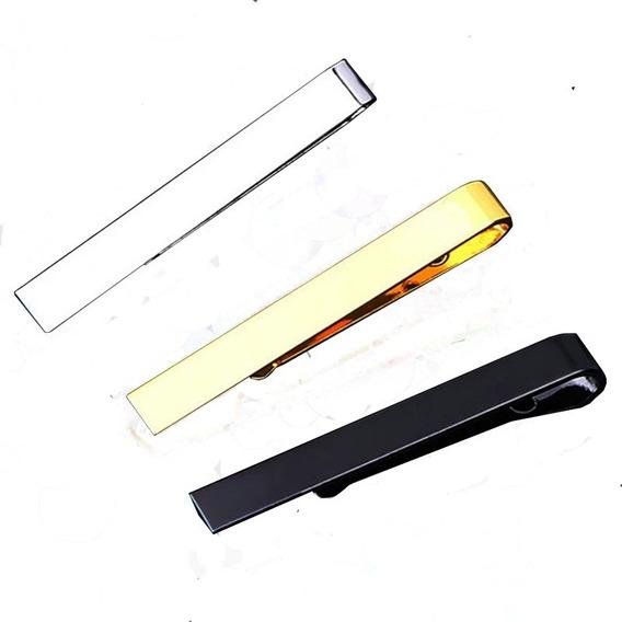 Pisacorbatas Tie Bar Minimalista Elegante Liso 5.3cm Z1036