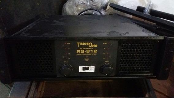 Amplificador Potência Times One Rs 812 Advance N/é Machine