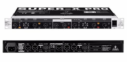 Behringer Cx2310 Crossover De 2 Vías Stéreo/3 Vías Mono
