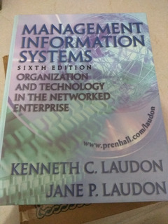 Libro Management Information Systems 6ta Edición