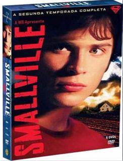 Smallville 2ª Temporada Completa Box 6 Dvd Lacrado Dublado