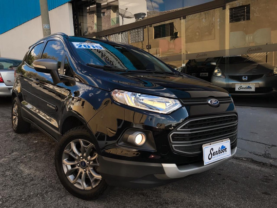 Ford Ecosport 1.6 16v Freestyle Manual Preto - 2015