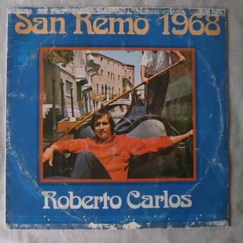 Lp Roberto Carlos 1975 San Remo 1968, Disco De Vinil